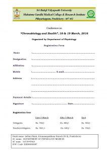 """Chronobiology and Health"