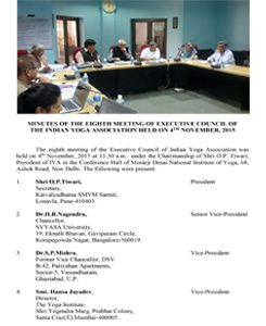 8th EC Meeting _4Th NOVEMBER-2015