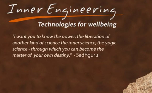 Inner Engineering with Sadhguru ; 30-March- To 31-March-2019