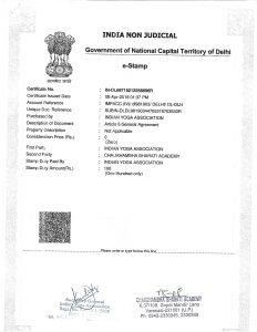 Chaukhambha Bharati Academy - Memorandum of Understanding
