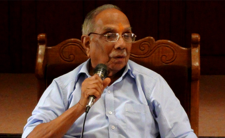Mananeeya Parameswaranji Passes Away