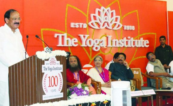 Centenary Year of The Yoga Institute