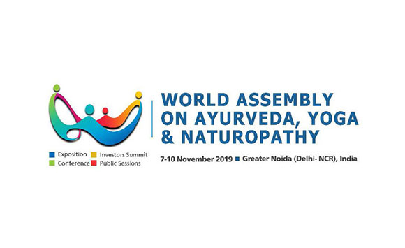 AYURYOG – World Assembly of Ayurveda, Yoga and Naturopathy;  07-Nov-2019