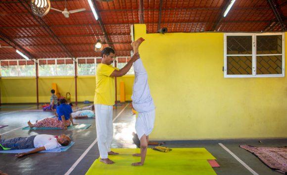 Balancing postures workshop – November 2019