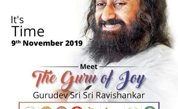 Maha Satsang with Gurudev 9th Nov 2019